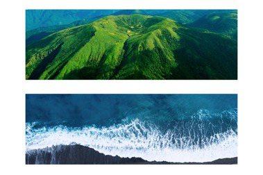 絕美山海影像喚起環境教育!看見·齊柏林基金會╳全家攜手推動零錢捐群募計畫,看見台灣的美麗與傷痕