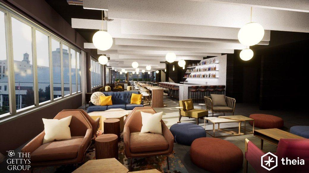 來自芝加哥的旅宿設施設計、品牌營造及開發公司 The Gettys Group,...