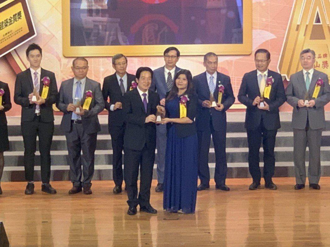台灣都更建設加盟總部,榮獲「2020國家品牌玉山獎-傑出企業」、「2020國家建...