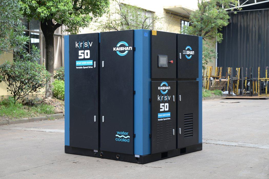 新一代永磁變頻螺旋式真空泵兼顧節能與高效能且具佔地面積小的優勢。 台灣開山壓縮機...