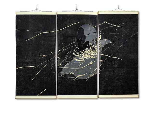 方力鈞「1996 No. 16」,1996年作。圖/蘇富比提供