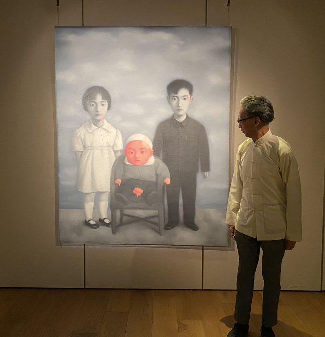 「大家庭在90年代成了中國後89藝術的一個造型的標誌,」張頌仁說。圖/蘇富比提供