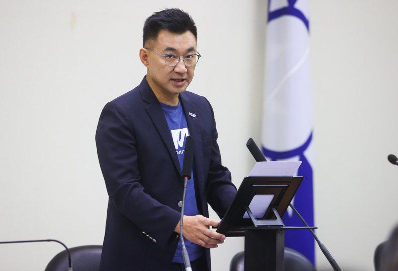 國民黨黨主席江啟臣。 中央社