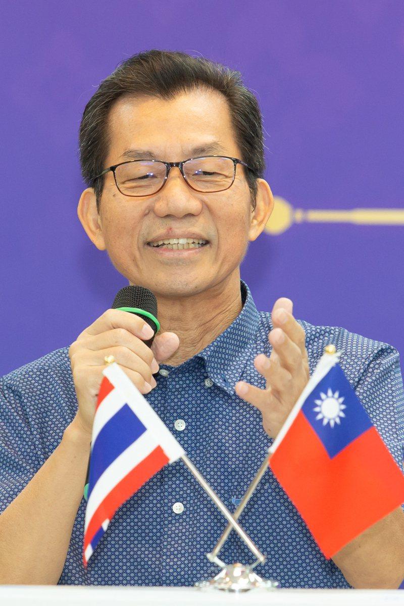 駐泰代表李應元表示,泰國疫情指揮中心幕僚已經注意到台灣防疫表現,台灣也把泰國列為低風險國家,商務客入境台灣只要隔離5天。聯合報系資料照片/記者季相儒攝影