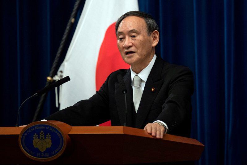 日本首相菅義偉。 (路透)