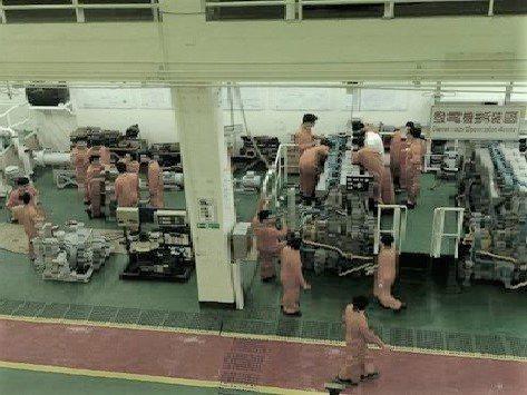 輪機工廠內部設施。圖/海大提供