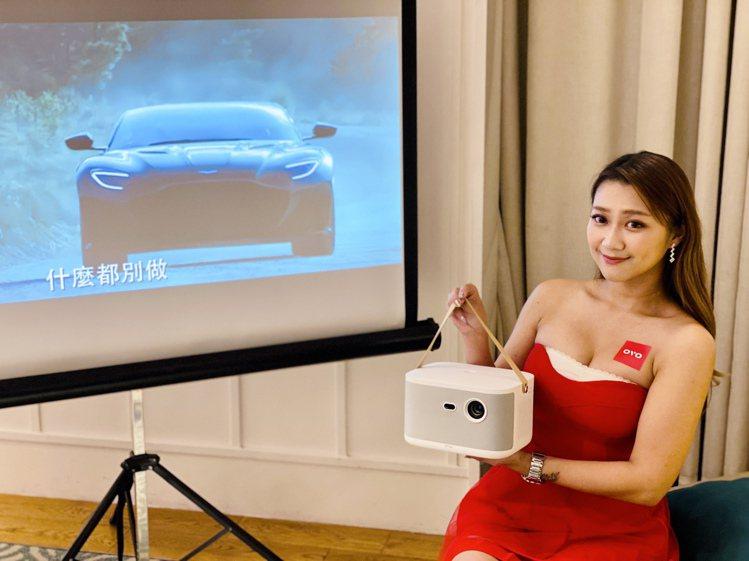 OVO百吋無框電視K1首創將超旗艦電視盒、正版影視內容、及K歌級音響,整合到輕巧...