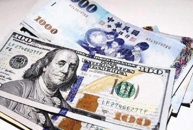 新台幣今(8)日早盤以28.930元兌1美元,升值3.5分開出。報系資料照