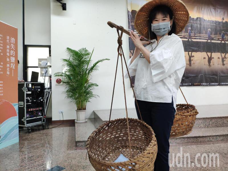 台南永康3區公所攜手探索鹽水溪風情。記者謝進盛/攝影