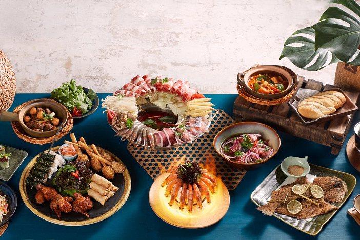 沐越此次推出叻沙羊肉推推鍋、經典炸物拼盤等新菜色。圖/王品提供