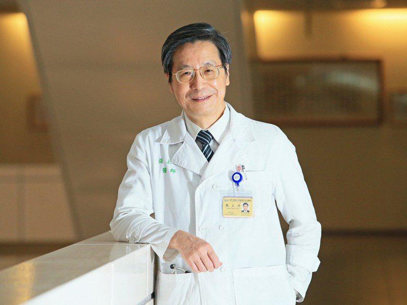 台大醫院感染科醫師張上淳,認為頂尖的人才要散布在不同領域,對國家才是好事情。記者潘俊宏/攝影