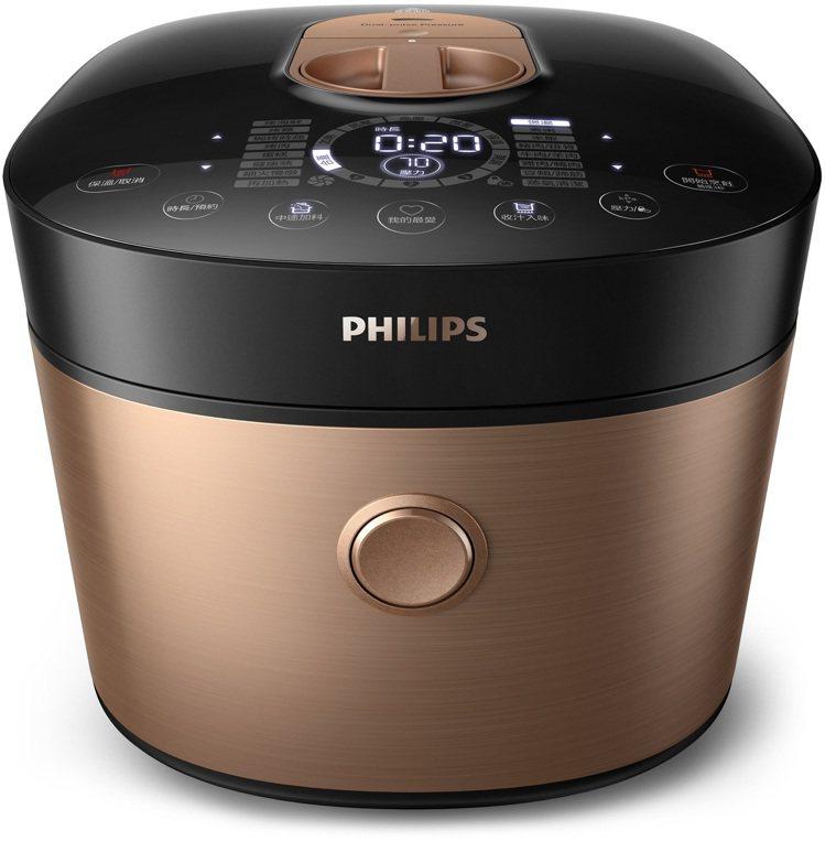 PHILIPS雙重脈衝智慧萬用鍋原價21,900元,特價12,900元。圖/新光...