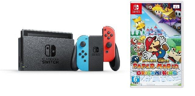 Nintendo Switch遊戲組合原價11,670元,特價11,390元。圖...