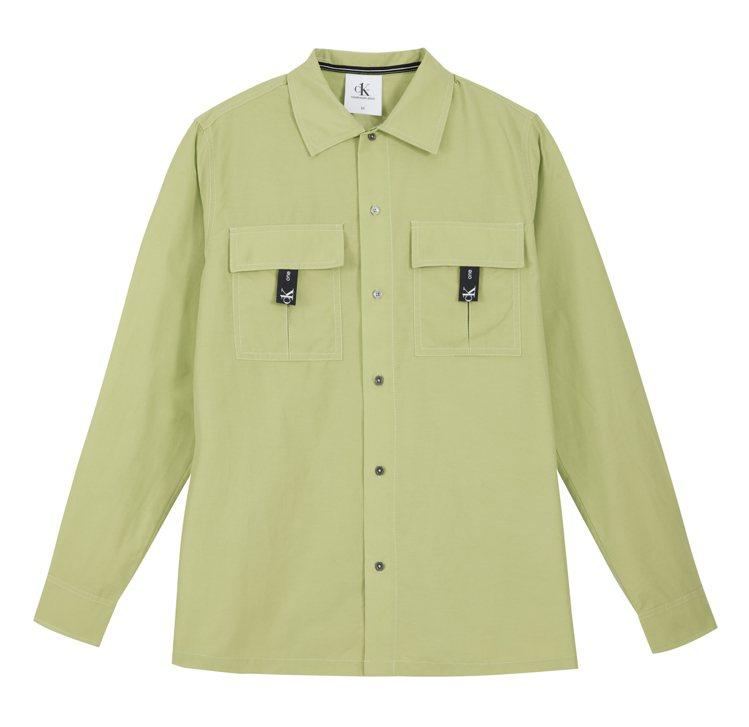 CK ONE襯衫4,680元。圖/CALVIN KLEIN提供
