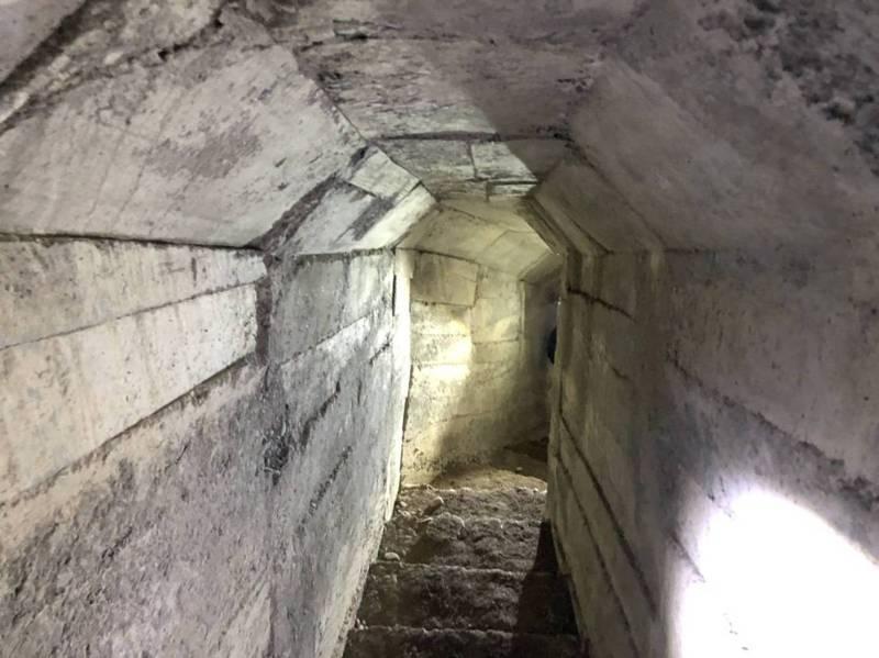二戰遺跡、日軍第50師團「石頭營」要塞的軍事坑道,文資人士認為可發展觀光。圖/林炫耀提供