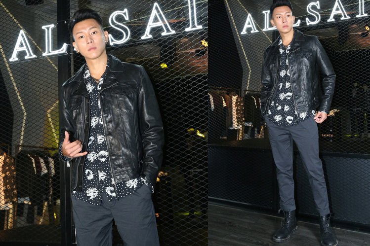 ALLSAINTS在台舉辦秋冬新款既皮衣夾克上市活動,請來話題人物瘦子E.SO站...