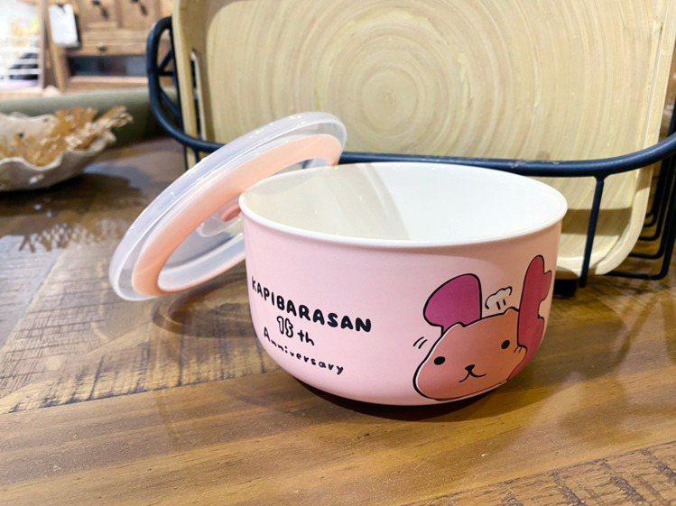 10月22日至10月25日刷GMpay單日累積滿888元可換水豚君保鮮碗。圖/環...