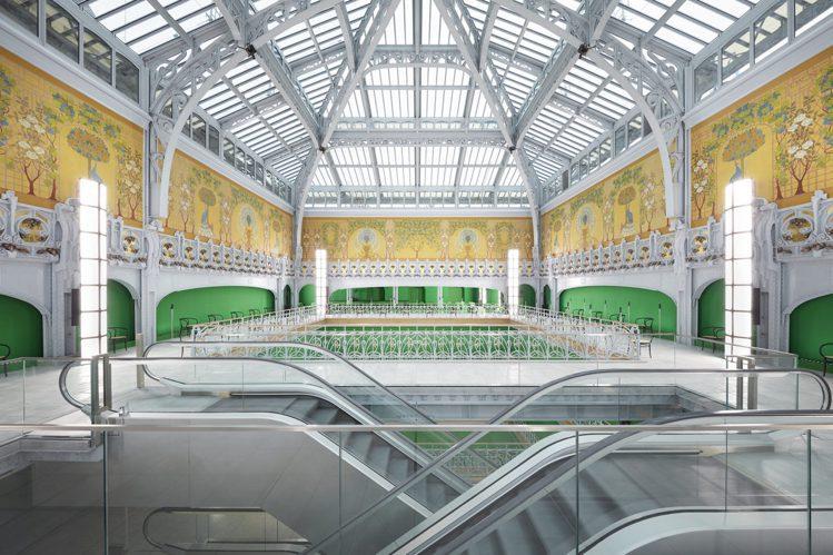 路易威登2021春夏發表於巴黎莎瑪麗丹百貨舉行。圖/LV提供