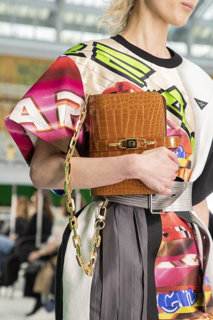 路易威登發表2021春夏女裝系列。圖/LV提供