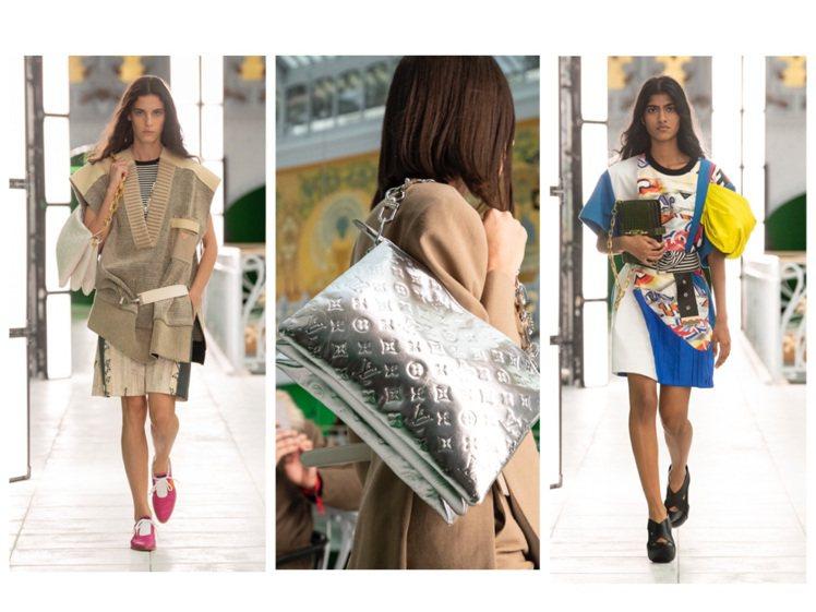路易威登發表2021春夏系列女裝。圖/LV提供