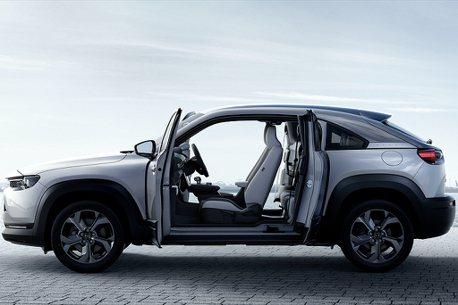 對開式車門小休旅!Mazda MX-30 e-SKYACTIV G油電動力日本率先開賣