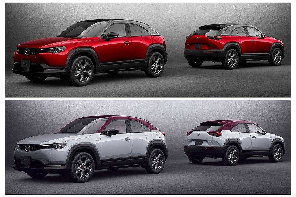 Mazda MX-30 e-SKYACTIV G正式在日本開始銷售,建議售價自2...
