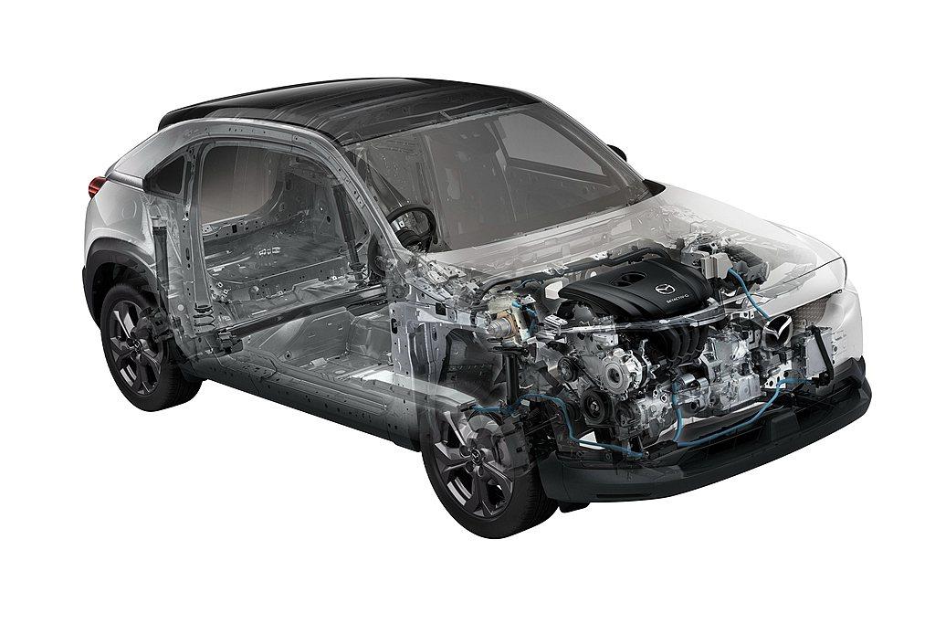 Mazda MX-30 e-SKYACTIV G動力來自2.0L SKYACTI...