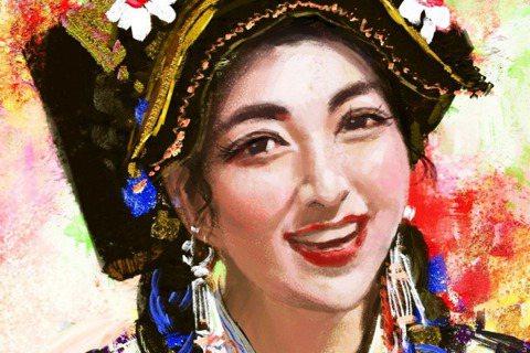 藏族女性拉姆,9月14日在父親家直播時,遭前夫唐姓男子持刀闖入,潑灑汽油造成全身...