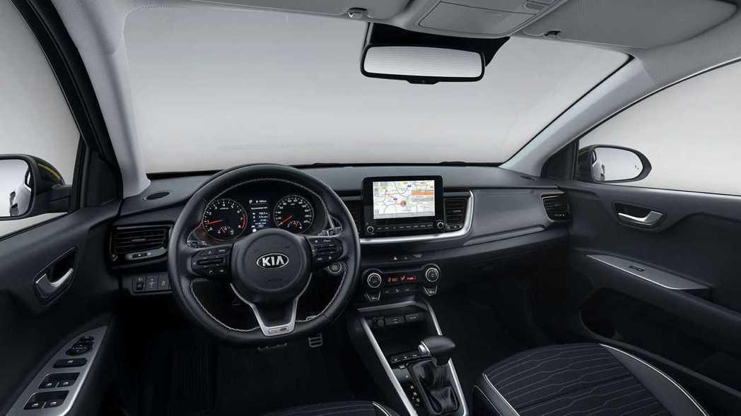 全新Kia Stonic GT Line內裝。 摘自Kia