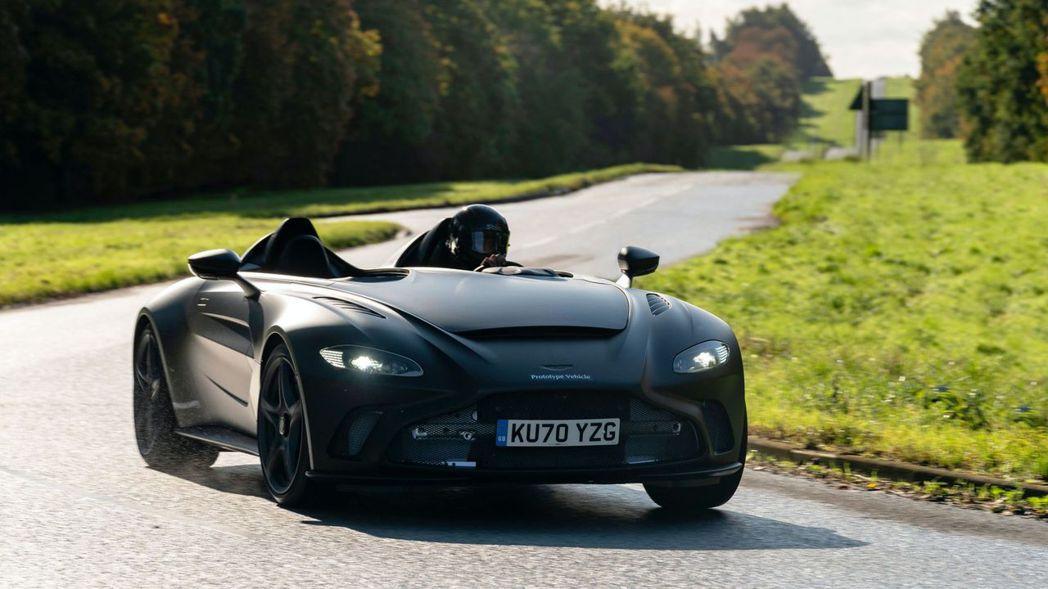 Aston Martin V12 Speedster限量生產88台,預計於明年第...