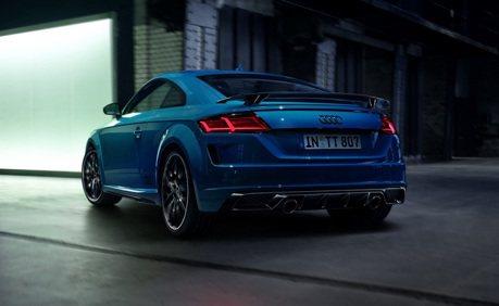 最後絕唱!Audi推出TT S Line Competition Plus特仕版升級續戰