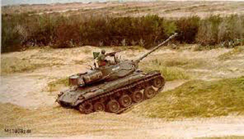 M41戰車。圖/軍聞社
