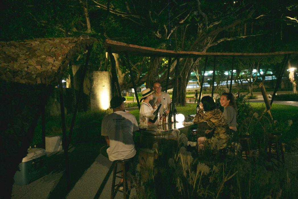 台灣在地葡萄酒品牌「威石東葡萄酒莊」也將參與快閃酒吧。 圖/[AR]TW VIB...