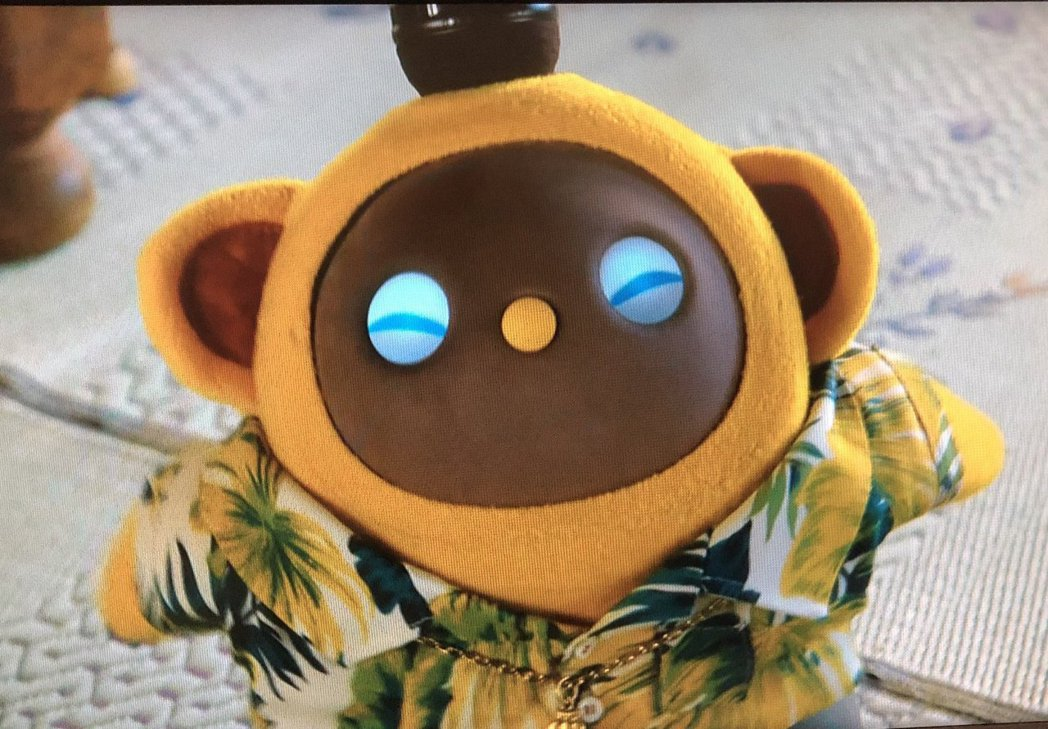 慶太的寵物機器人「猿彥」。圖/擷自推特
