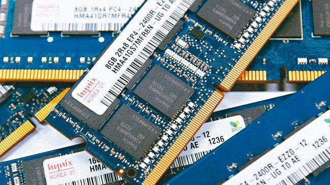去年第4季以來,DRAM價格意外提前上漲。 本報系資料庫