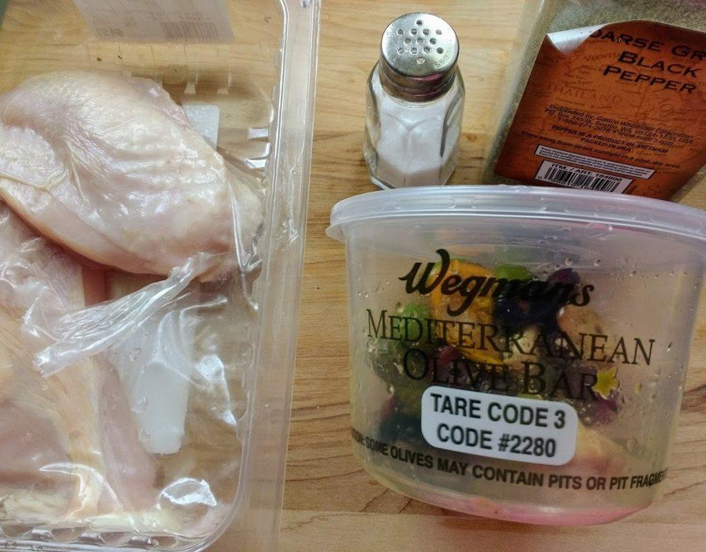 圖文:美國番媽【食譜】鷄胸甘藍菜佐地中海料