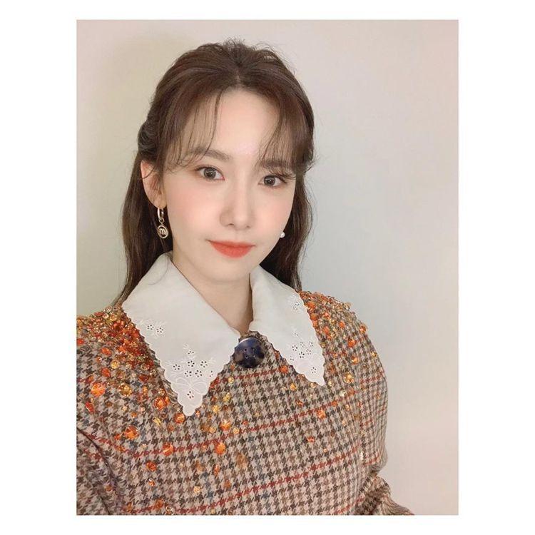 潤娥連線參與MIU MIU 2021春夏大秀。圖/摘自IG
