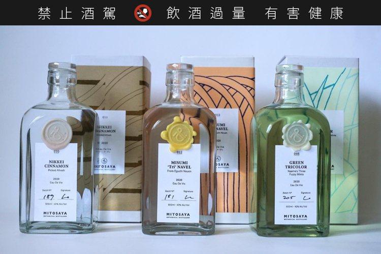 同系列產品皆採自然派包裝設計,風格清新。圖/摘自Mitosaya藥草園蒸餾所臉書...