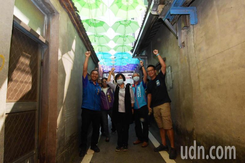 彰化縣長王惠美關心青年在地發展,日前宣布縣府著手規劃青年住宅。記者林敬家/攝影