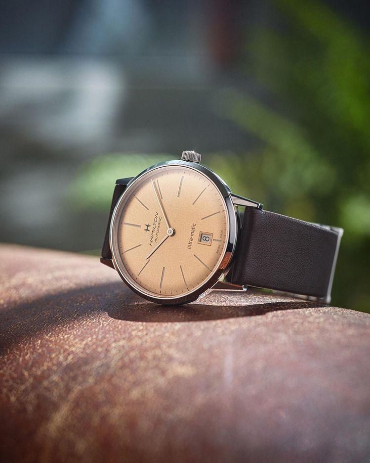 Hamilton,Intra-Matic自動腕表,38毫米,精鋼,時間顯示,價格...
