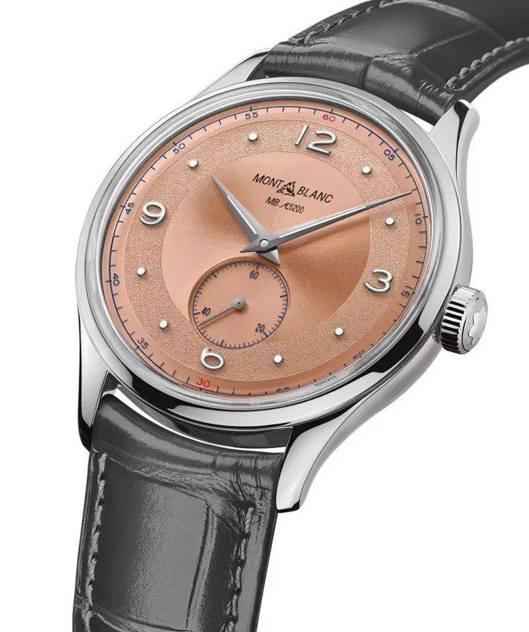 萬寶龍傳承系列小秒針限量款38手表,使用較高階的自製機芯,呈現懷舊的高級感。約6...