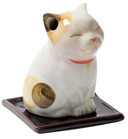 京都松栄堂麗香爐小貓售價1,200元。圖/SOGO提供