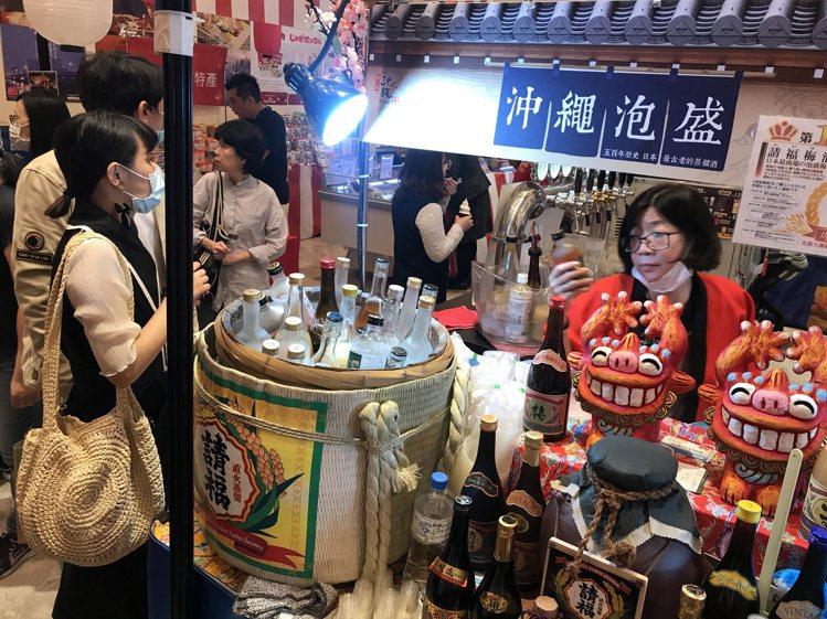 新光三越台北南西店周年慶期間日本展大幅成長7成,現在韓國展接力展開。記者江佩君/...