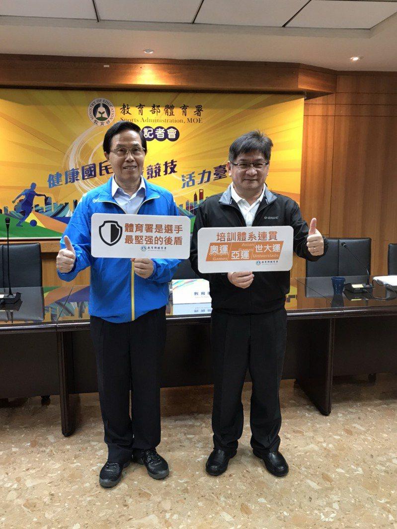 體育署指出杭州亞運培訓計畫已在9月啟動,目前國訓中心亞奧運培訓隊教練與選手就超過400人。記者劉肇育/攝影