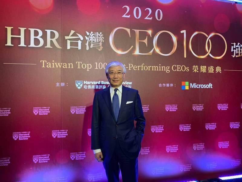 《哈佛商業評論》公布「台灣執行長100強」,聯強國際集團總裁杜書伍名列台灣上市公司第4大最佳績效CEO。 記者謝艾莉/攝影