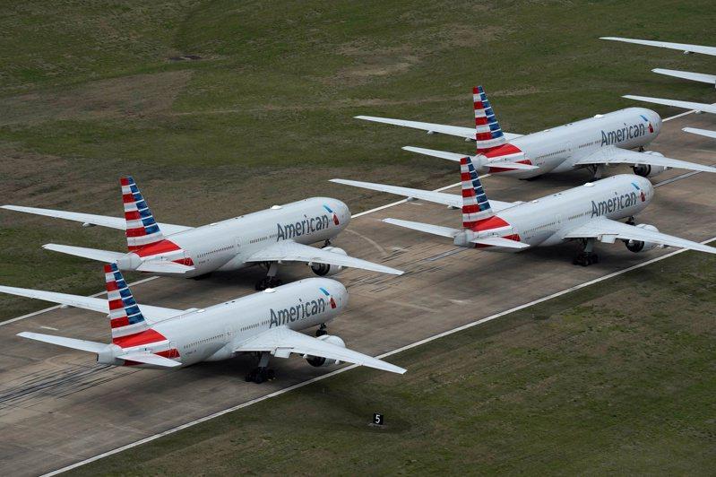 美國航空業者可望獲得250億美元紓困金。(路透)