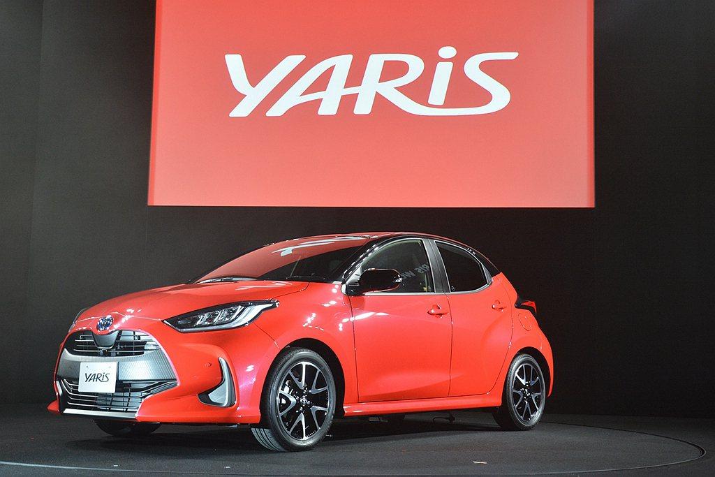 新世代Toyota Yaris於9月再以22,066輛成為日本乘用車銷售冠軍,排...