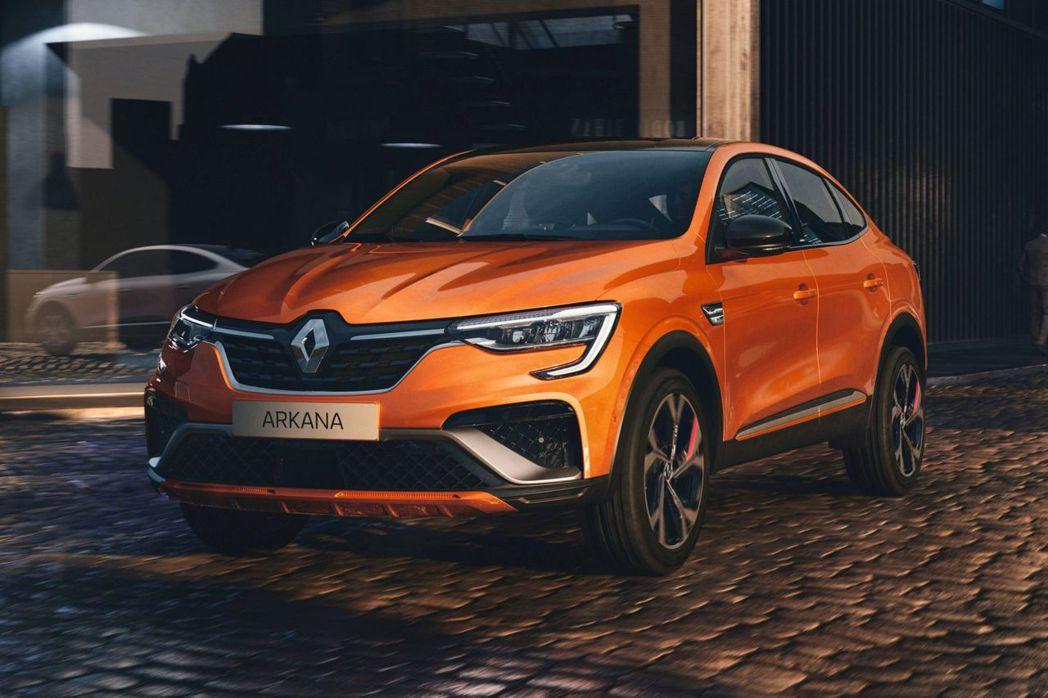 歐規Renault Arkana將提供搭載結合E-TECH油電混合動力的1.3升...
