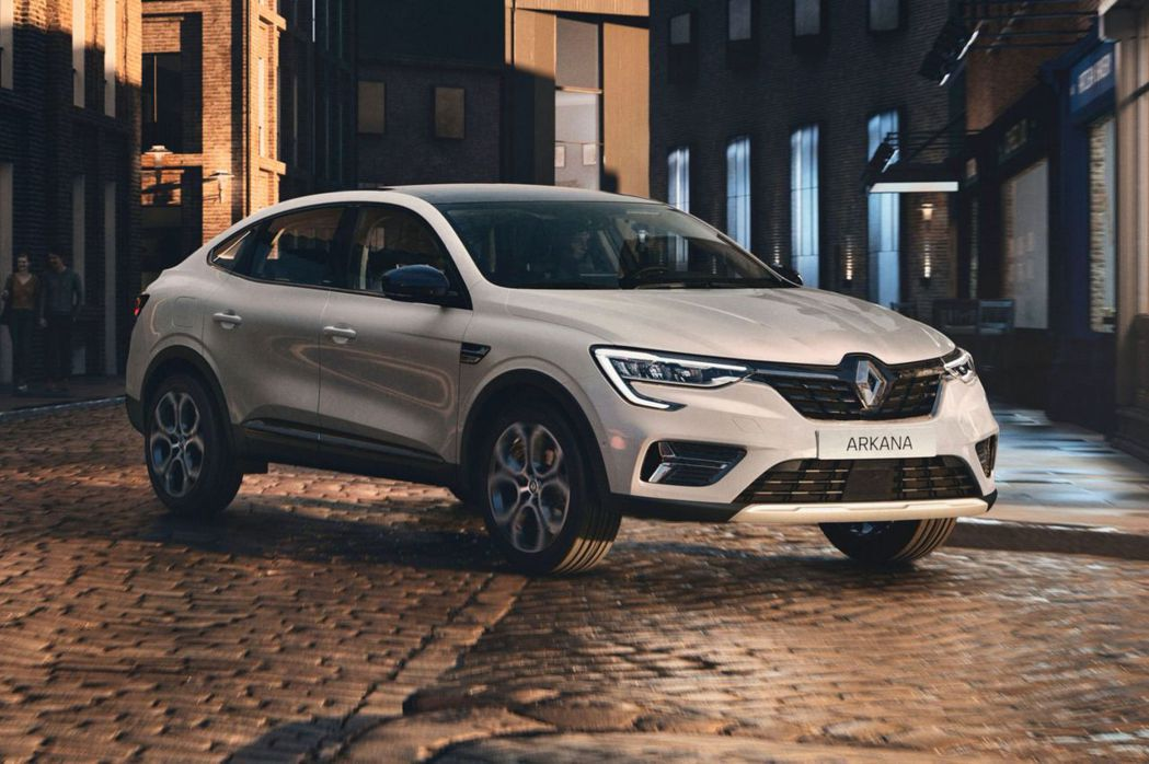 歐規Renault Arkana。 摘自Renault