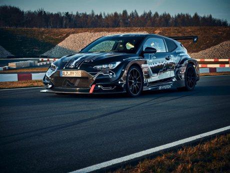 影/799匹馬力Hyundai RM20e原型電動車亮相!零百加速不用3秒!